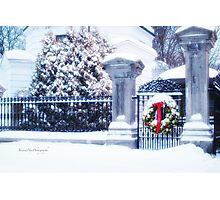 Glad Tidings for Christmas Photographic Print