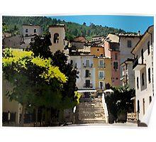 Introdaqua, Italy, east coast Poster