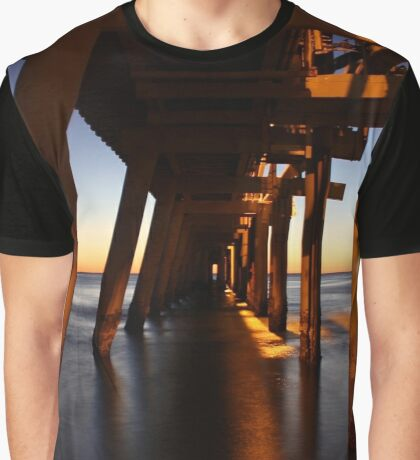 Pumping Jetty Graphic T-Shirt