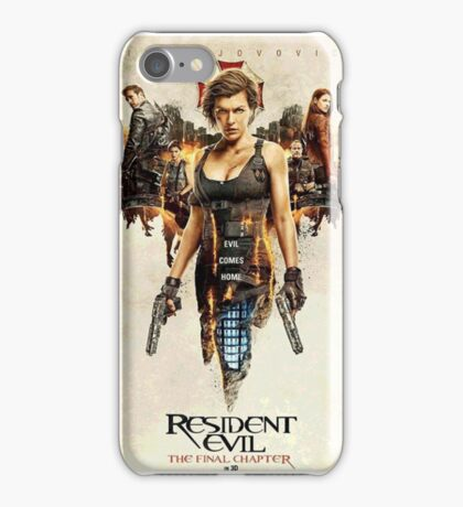 New cover -  The Resident Evil  iPhone Case/Skin