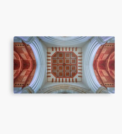 The Cathedral Ceiling Metal Print