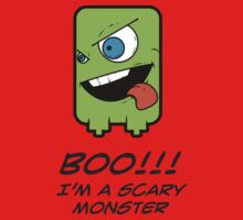 BOO! I'M A SCARY MONSTER Baby Tee