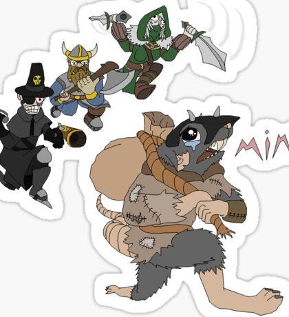 Sack Rat - Mine? Sticker