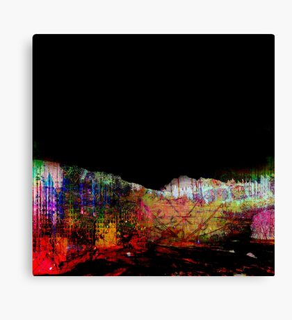 Midnight and Neon Canvas Print