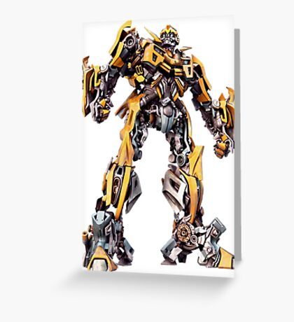transformers 5 Greeting Card