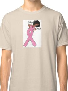 African American Breast Cancer T-shirts Classic T-Shirt