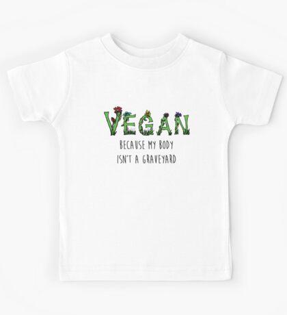 Vegan Quote Kids Tee