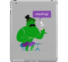 SMASHING HULK! iPad Case/Skin