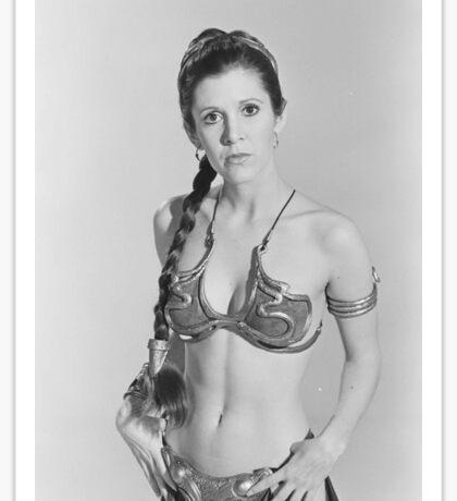 Princess Leia - Carrie Fisher - Star Wars Sticker