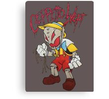 Geppetto Wept Canvas Print