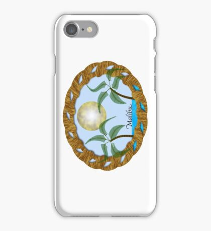 Malibu CA iPhone / Samsung Galaxy Case iPhone Case/Skin