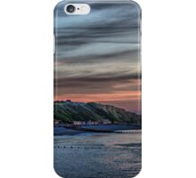 Sunset on Cromer Cliffs iPhone Case/Skin