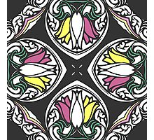Tulips Kaleidoscope Print Photographic Print