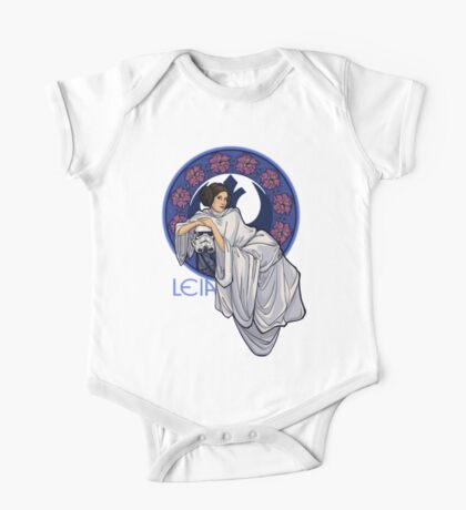 Princess Leia - Carrie Fisher - Star Wars One Piece - Short Sleeve