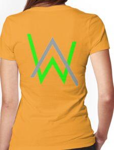 alan walker music Womens Fitted T-Shirt