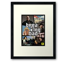 Breaking Bad GTA Framed Print