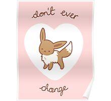 Eevee Valentine V2 Poster