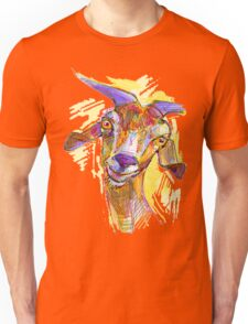 goat silly face Unisex T-Shirt