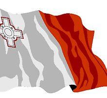 Malta Flag by kwg2200