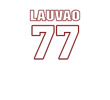 NFL Player Shawn Lauvao seventyseven 77 Photographic Print