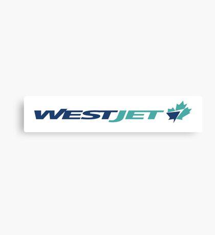 WestJet. Canvas Print