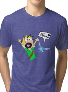 Calvin, the Timeless Hero Tri-blend T-Shirt