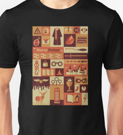 All character Harry potter Unisex T-Shirt