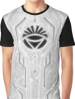 White Lantern Corps Graphic T-Shirt