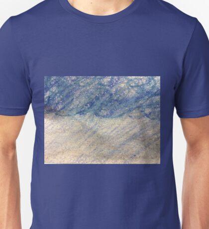 Rain Storm in Oil Pastels Unisex T-Shirt