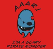 I'M A SCARY PIRATE MONSTER Baby Tee