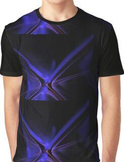 Blue X Graphic T-Shirt