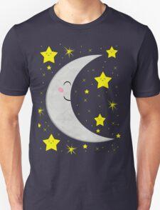 Sleeping Paper Moon + Stars T-Shirt