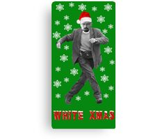 Walter White Xmas Canvas Print