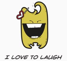I LOVE TO LAUGH Kids Tee