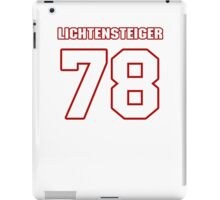 NFL Player Kory Lichtensteiger seventyeight 78 iPad Case/Skin