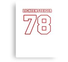 NFL Player Kory Lichtensteiger seventyeight 78 Metal Print