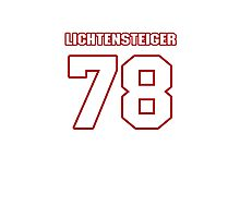 NFL Player Kory Lichtensteiger seventyeight 78 Photographic Print