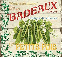 French Veggie Label 1 by Debbie DeWitt