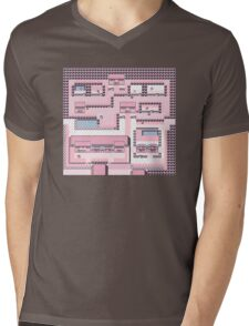 PkMn - Fuchsia City Full Graphic Tee Mens V-Neck T-Shirt