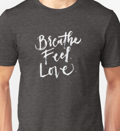 Give. Free. (White Text) Unisex T-Shirt