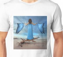 Learnin' to fly Unisex T-Shirt