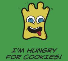 I'M HUNGRY FOR COOKIES One Piece - Short Sleeve