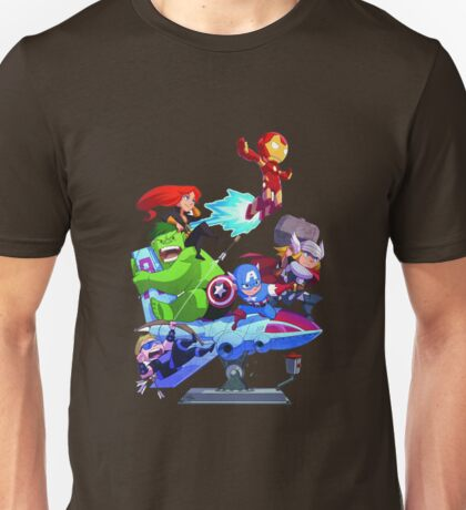 Avengers Cartoon Unisex T-Shirt