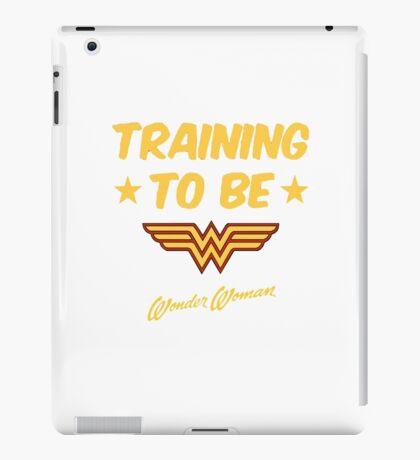 wonder women iPad Case/Skin