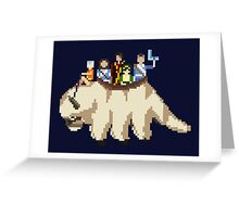 Team Avatar (TLA) Greeting Card