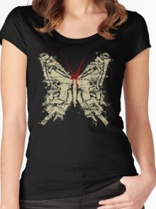 Deadly Species - Butterfly Women's Fitted Scoop T-Shirt