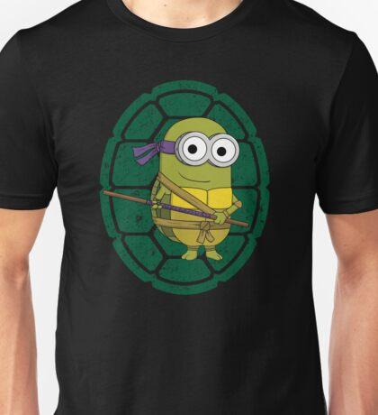 Minion Turtle Donatello Unisex T-Shirt
