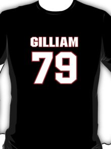 NFL Player Garry Gilliam seventynine 79 T-Shirt