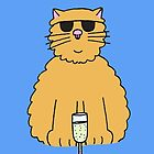 You've got Cattitude! Cat in shades. by KateTaylor