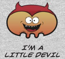 I'M A LITTLE DEVIL Baby Tee